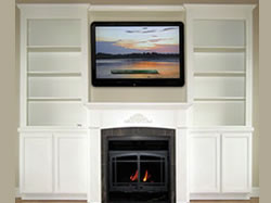 Wall Entertainment Fireplace Fronts