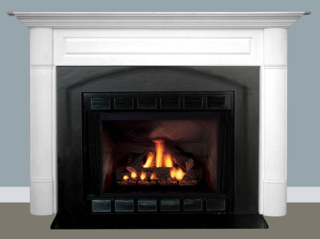 Superb Brookfield Mantel. Fireplace Fronts