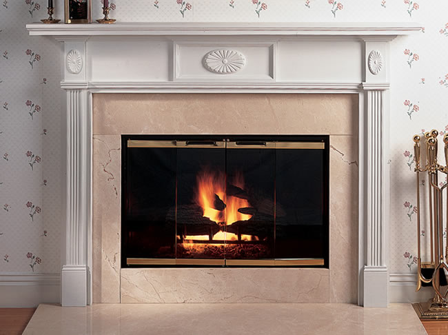 Fireplace Fronts Colonial Mantel